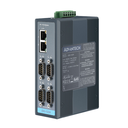 Eki 1224 Be Modbus Gateway Advantech Itg India